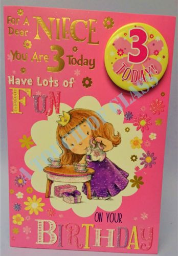 Niece Great Birthday Cards